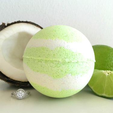 Coco Lime-A-Rita Ring Bath Bomb