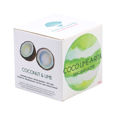 Coco Lime A Rita Ring Bath Bomb Gift Box Pack Of 1