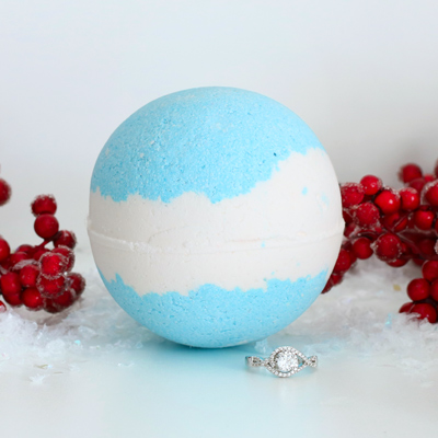 Frozen Berry Ring Bath Bomb Pack Of 1 Pearl Bath Bombs